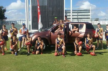 Mackay Isuzu UTE join forces with AFL Mackay Competitive Junior Competition Image